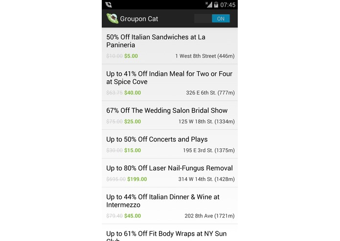 Groupon Cat – screenshot 2