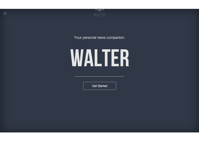 Walter - News App – screenshot 1