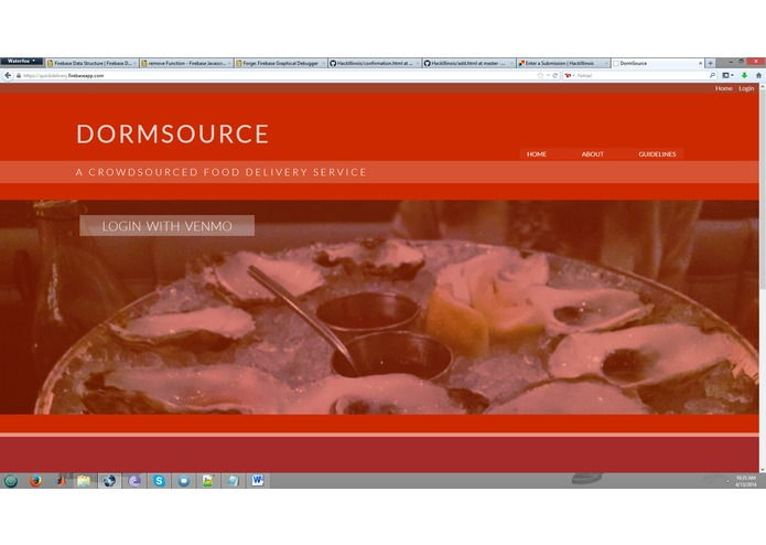 DormSource – screenshot 1