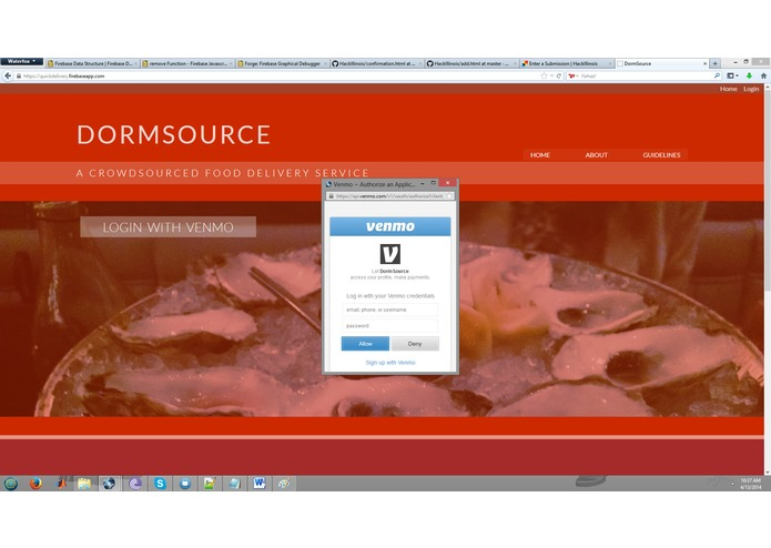 DormSource – screenshot 2