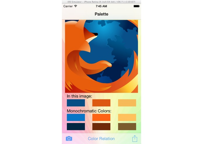 Palette – screenshot 1