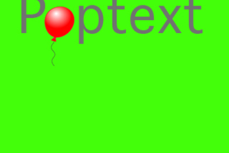 Poptext
