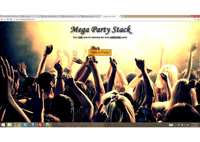 Mega Party Stack – screenshot 1