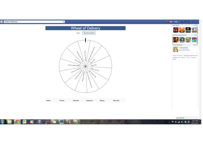 Wheel of Delivery – screenshot 3
