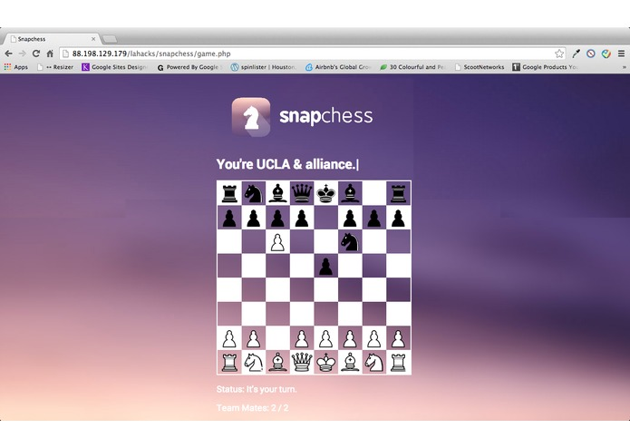 SnapChess – screenshot 1