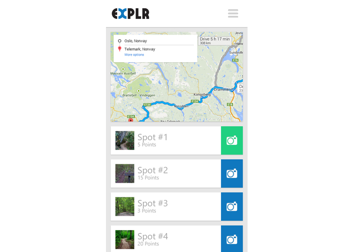 EXPLR – screenshot 3