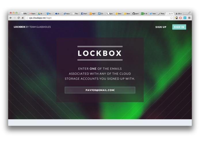 Lockbox – screenshot 1