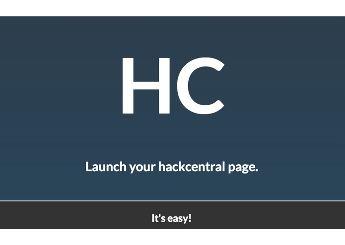 hackcentral – screenshot 1