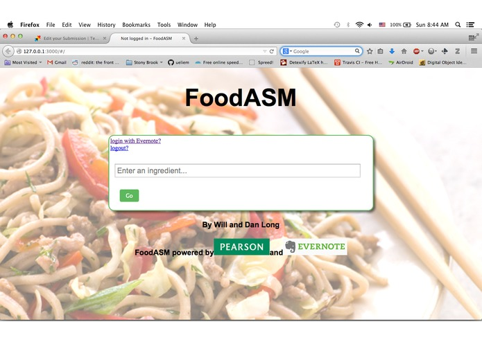 FoodASM – screenshot 2