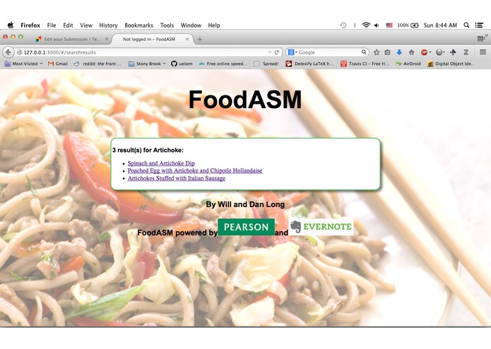 FoodASM – screenshot 3