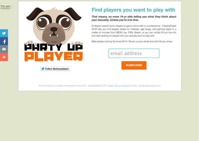 PartyUpPlayer (PUP)  – screenshot 2