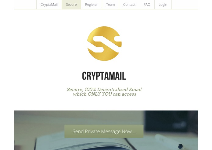 CryptaMail – screenshot 1
