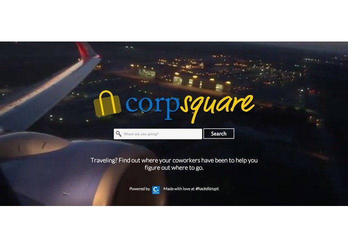 CorpSquare – screenshot 1
