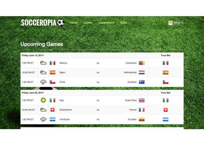 Socceropia – screenshot 1