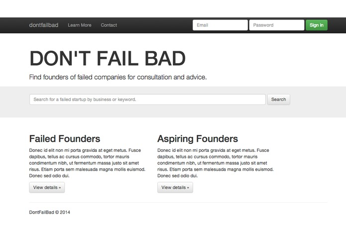 DontFailBad – screenshot 1