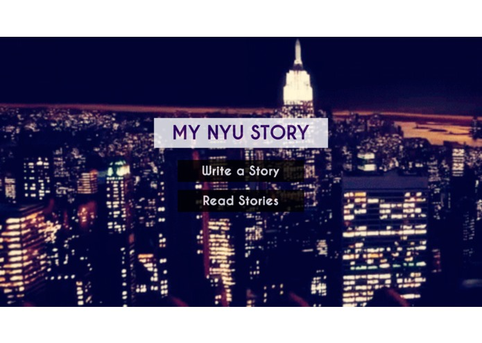 MY NYU STORY – screenshot 1