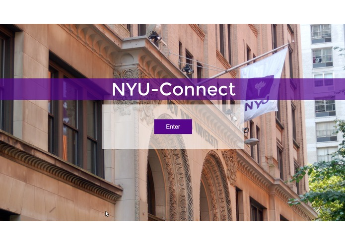 NYU-Connect – screenshot 3