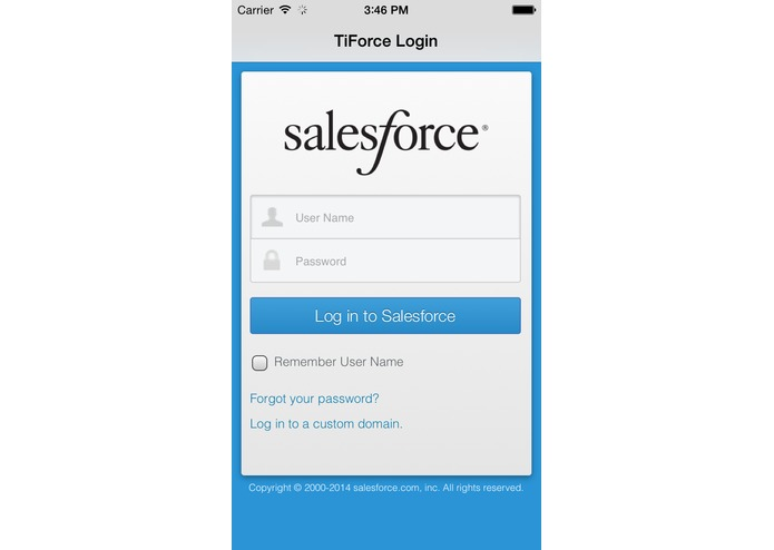 TiForce – screenshot 1