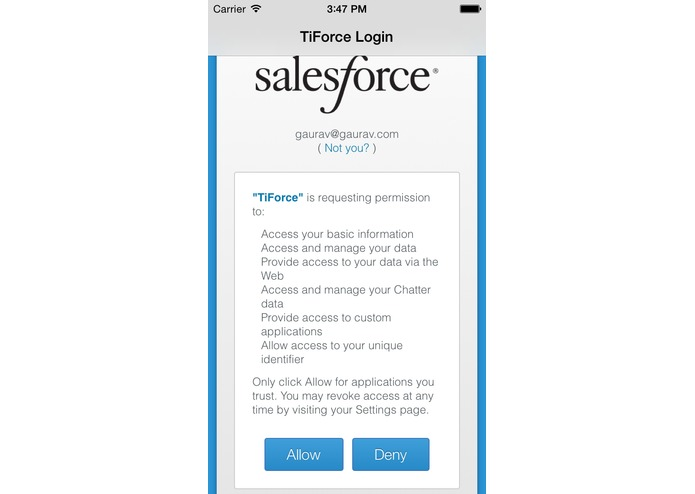 TiForce – screenshot 4