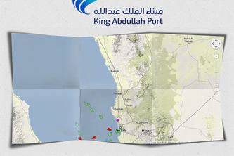King Abdullah Port Live Ship Tracker