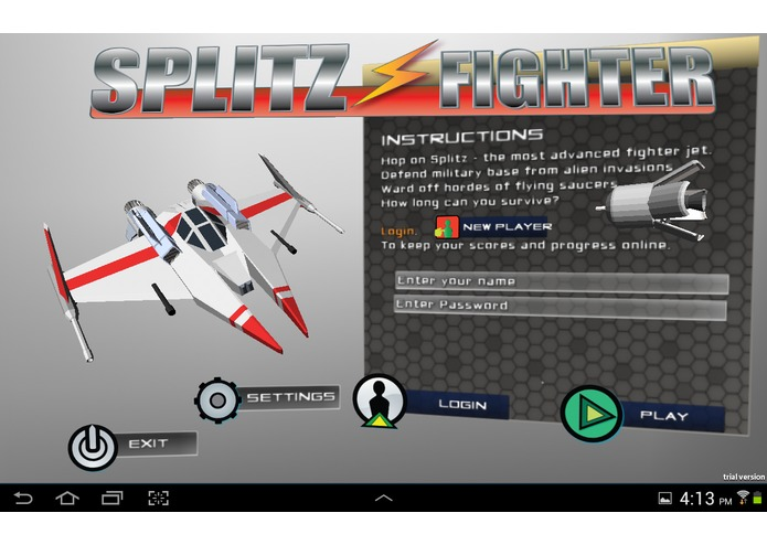 Splitz Fighter – screenshot 4