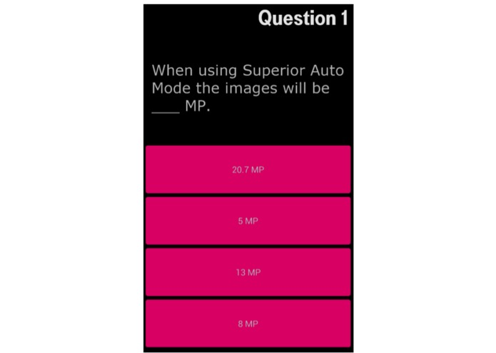 T-Mobile, the sales training app – screenshot 2