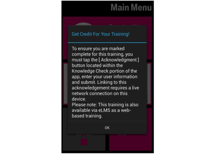 T-Mobile, the sales training app – screenshot 3