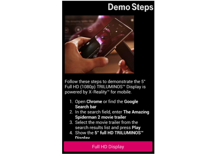 T-Mobile, the sales training app – screenshot 5