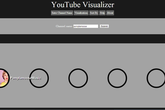 YouTube Visualizer