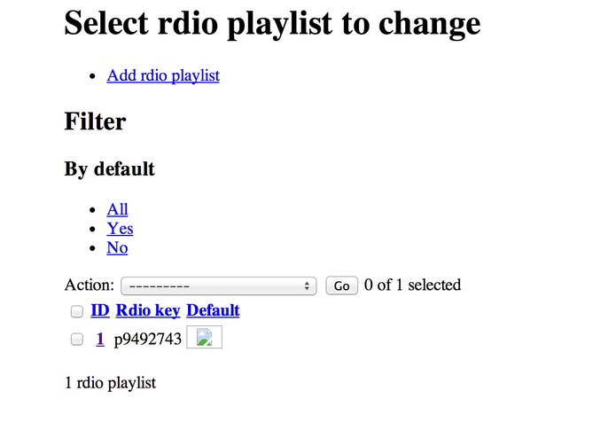 Email/Text to Playlist – screenshot 1