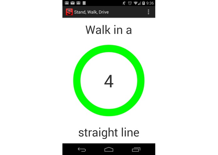 Stand, Walk, Drive – screenshot 1