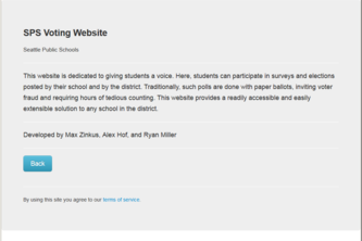 Seattle Public Schools ASB Voting Webapp