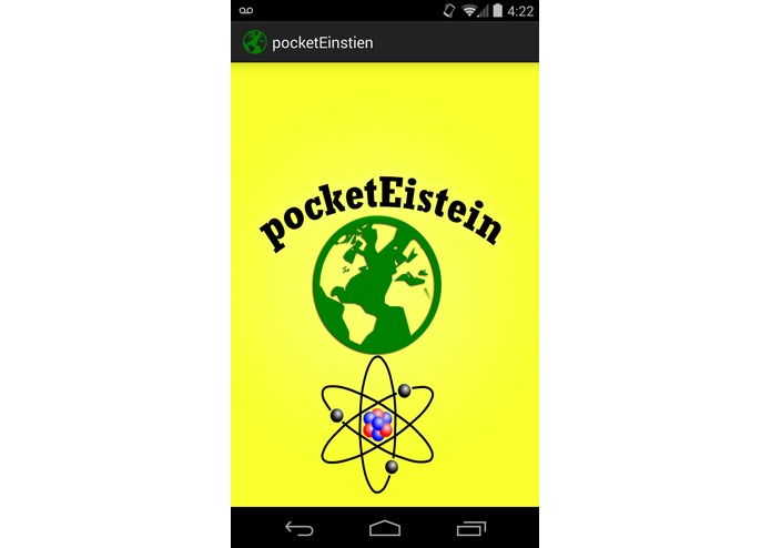 pocketEinstein – screenshot 1