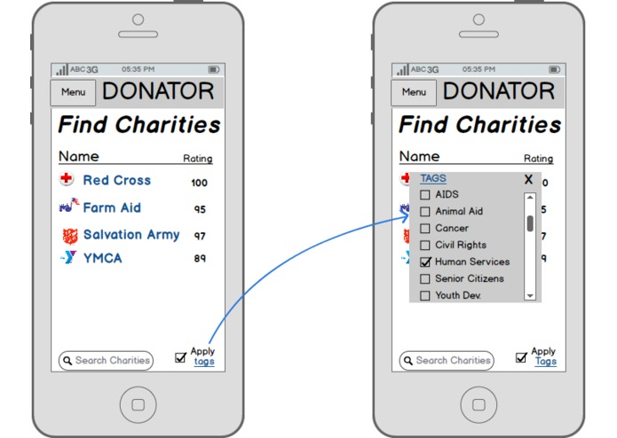 Donator – screenshot 5