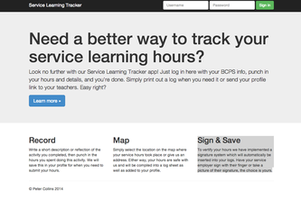 Service Learning Tracker