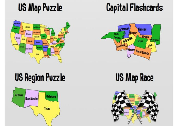 State Puzzles – screenshot 3