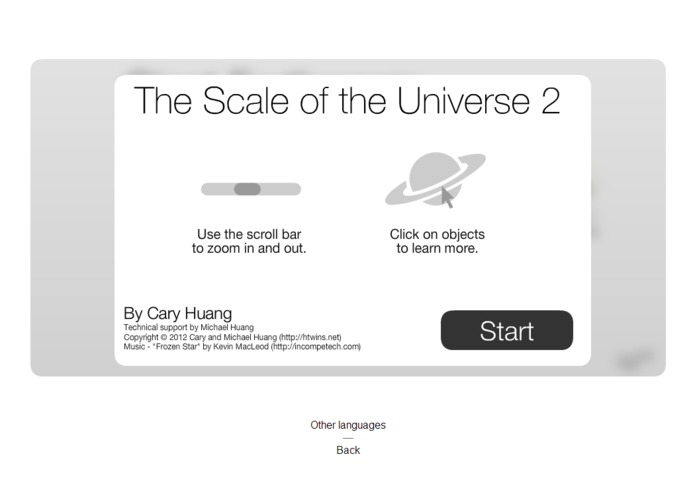 The Scale of the Universe – screenshot 1