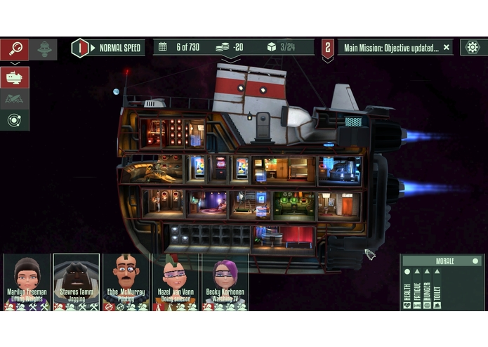 Cosmonautica - A Space Trading Adventure – screenshot 5