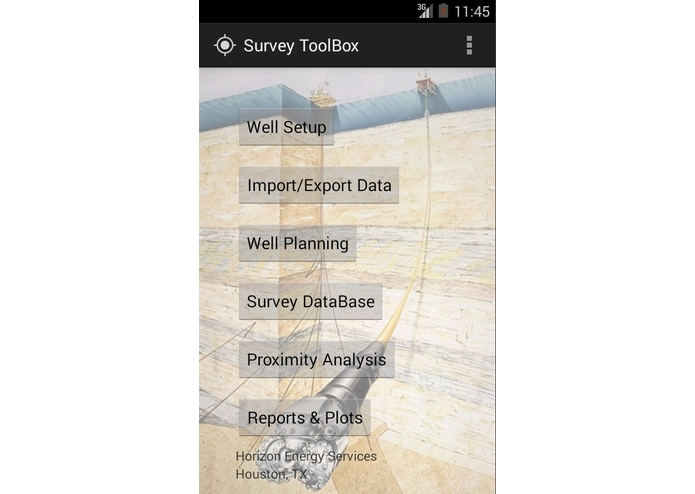 SurveyToolBox – screenshot 1