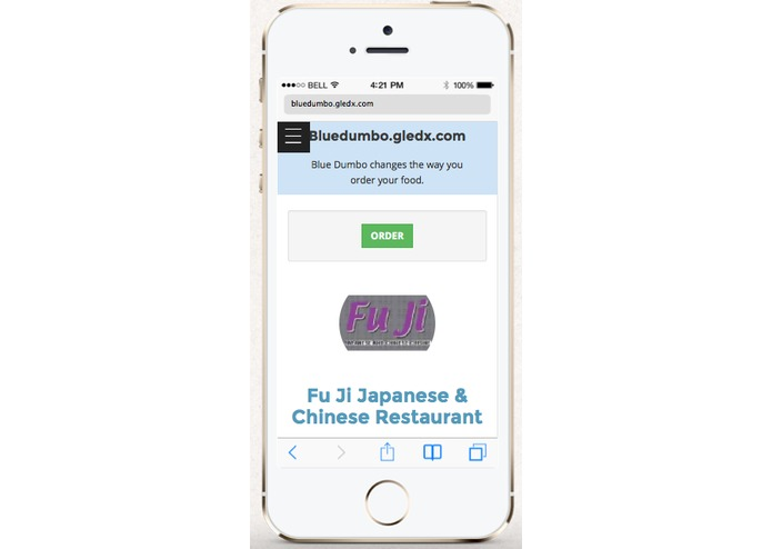 Bluedumbo Food Ordering – screenshot 5