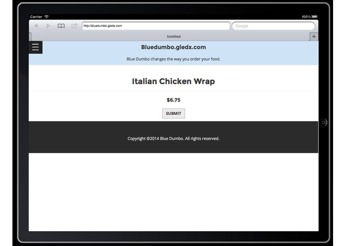 Bluedumbo Food Ordering – screenshot 18