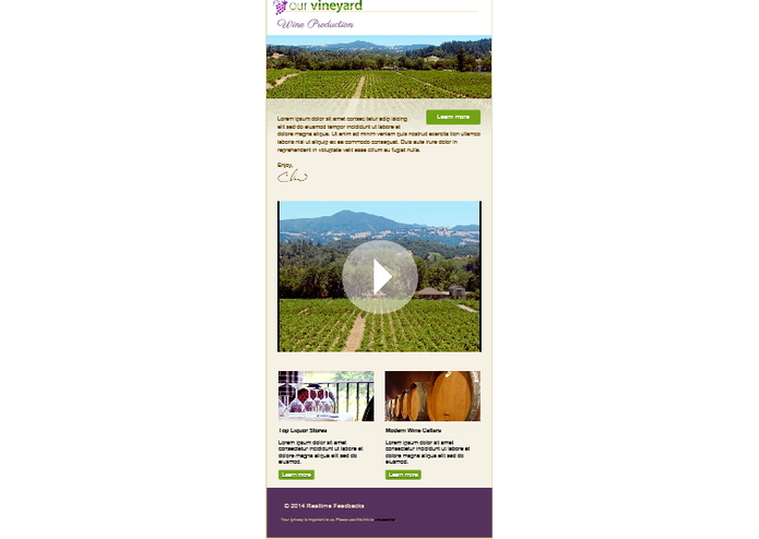 Wine Feedbacks App – screenshot 1