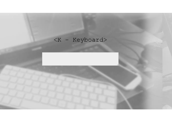 K-Keyboard – screenshot 1