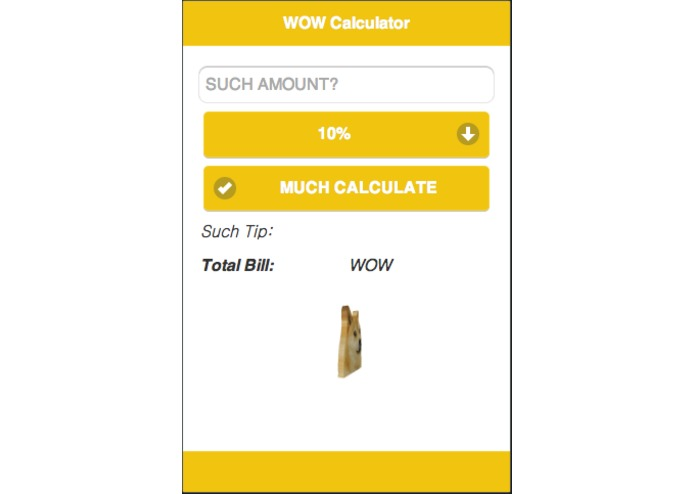 WOW Calculator – screenshot 1