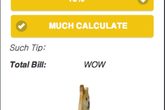 WOW Calculator