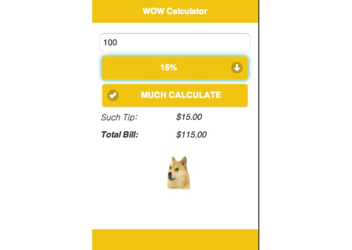 WOW Calculator – screenshot 2
