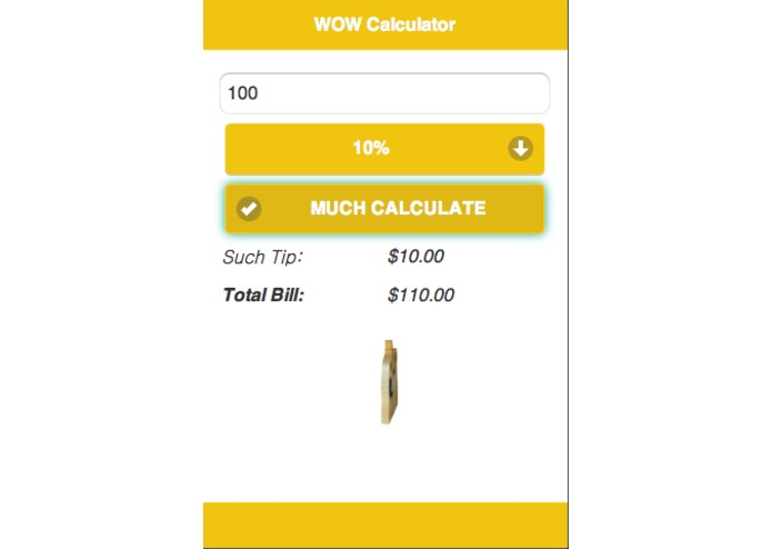 WOW Calculator – screenshot 4