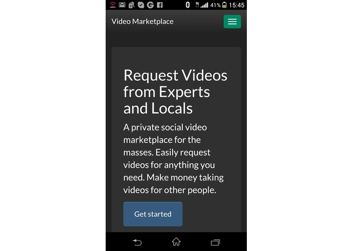 Video Marketplace – screenshot 1