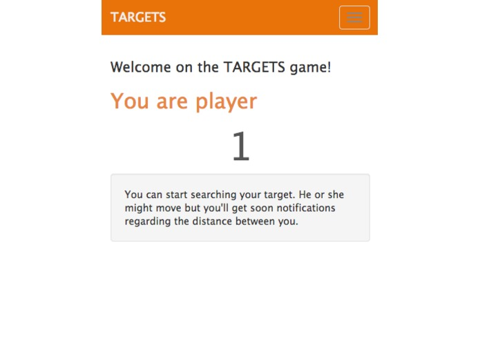 TARGETS - HACKATHON TEAM 6 – screenshot 1