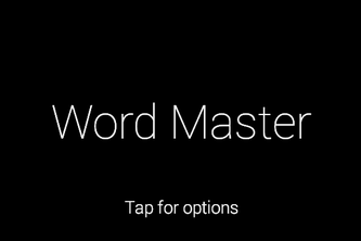 Word Master (Google Glass Spelling Bee Tool)